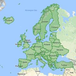 GeoPuzzle   Mercator Puzzle Of World
